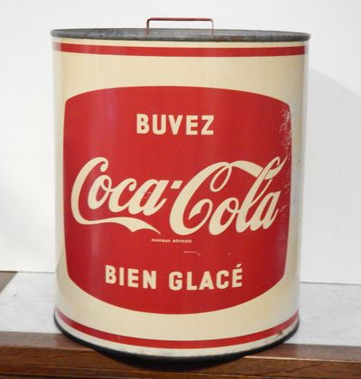 authentique glaciere coca-cola